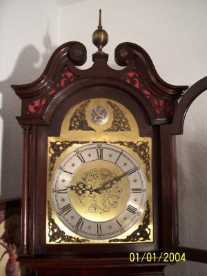 Reloj carillon aleman de antesala en relojes de sal n - Relojes para salon ...