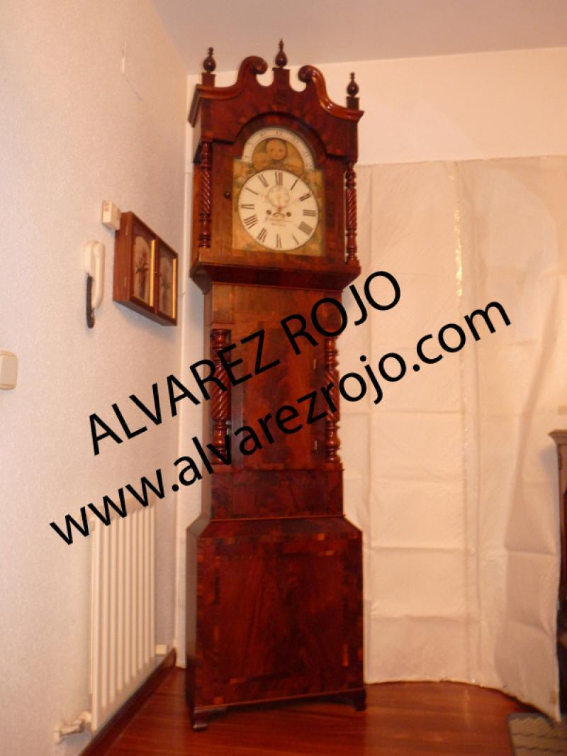 Reloj de pie ingles en relojes de sal n - Relojes para salon ...