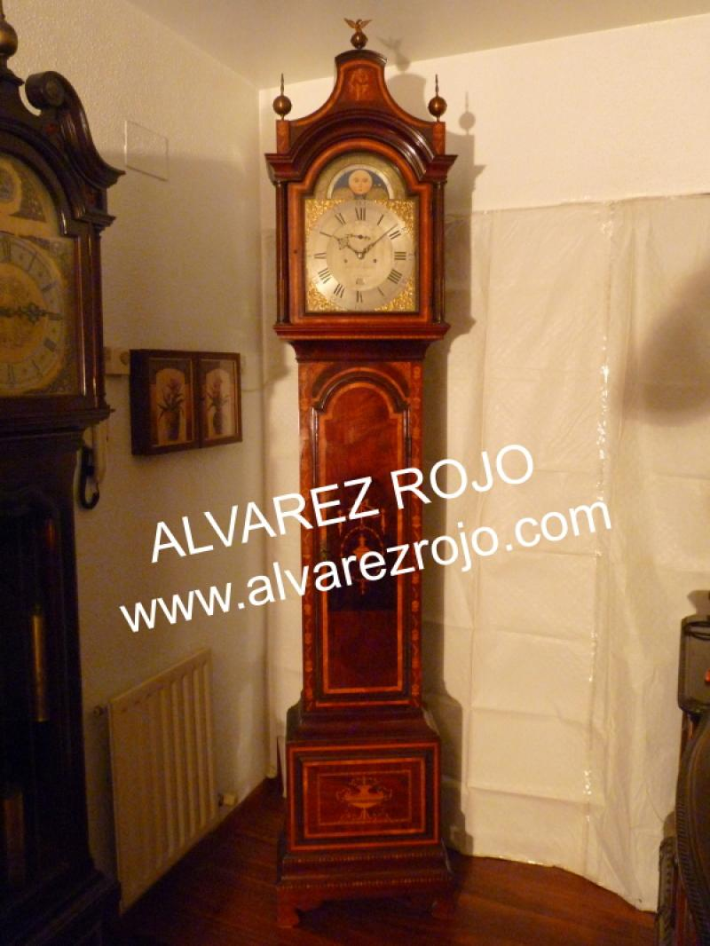 Reloj de pie ingles en relojes de sal n - Reloj para salon ...