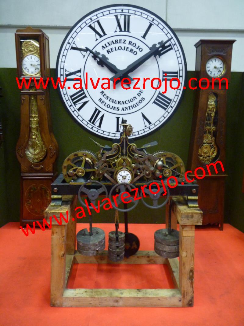 Reloj de torre en relojes de sobremesa relojes de sal n - Relojes para salon ...